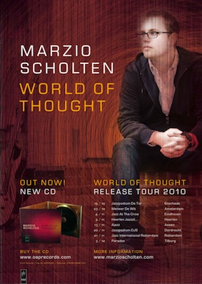 Poster World of Thought release tour